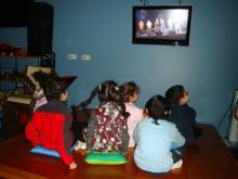 Salle de musique accessible aux sourds institut Baguer